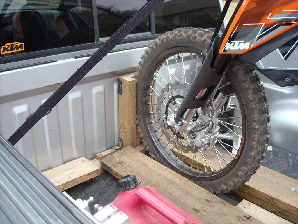 Diy Motorcycle Wheel Chock Design Ideas